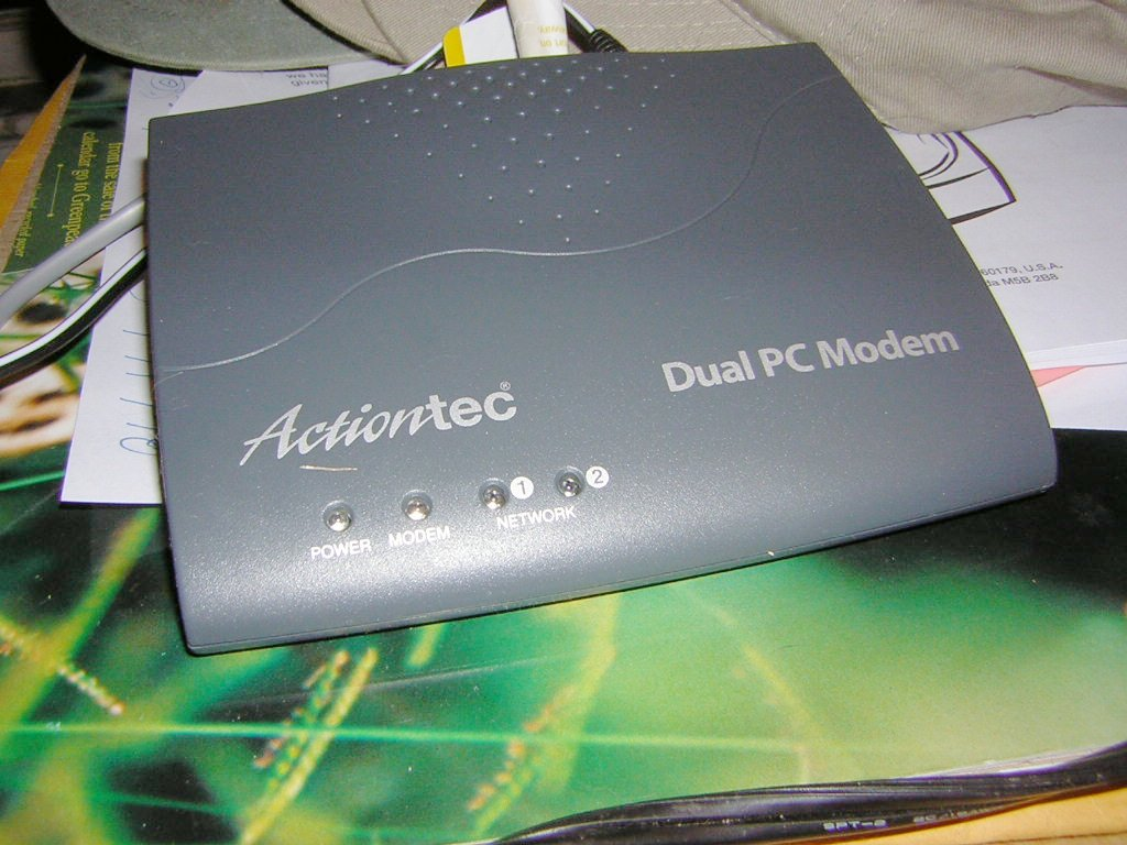 Download drivers for Actiontec MODEM